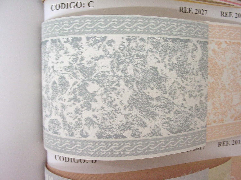 ROLLO CENEFA PAPEL PINTADO DECORADO EMPAPELAR PARED FUSION D2017 AZUL