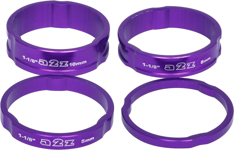 A2Z/ /anodizado Auriculares Parte Superior Tallo Cap