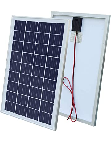 ECOWORTHY - Módulo de panel solar policristalino de 25 W, 25 W, 12 V