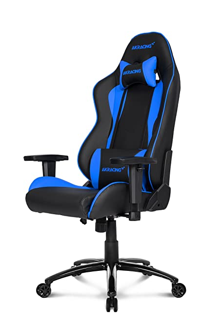 37 opinioni per AKRACING Gaming Chair Nitro- Sedia da gaming, Nero/Blu