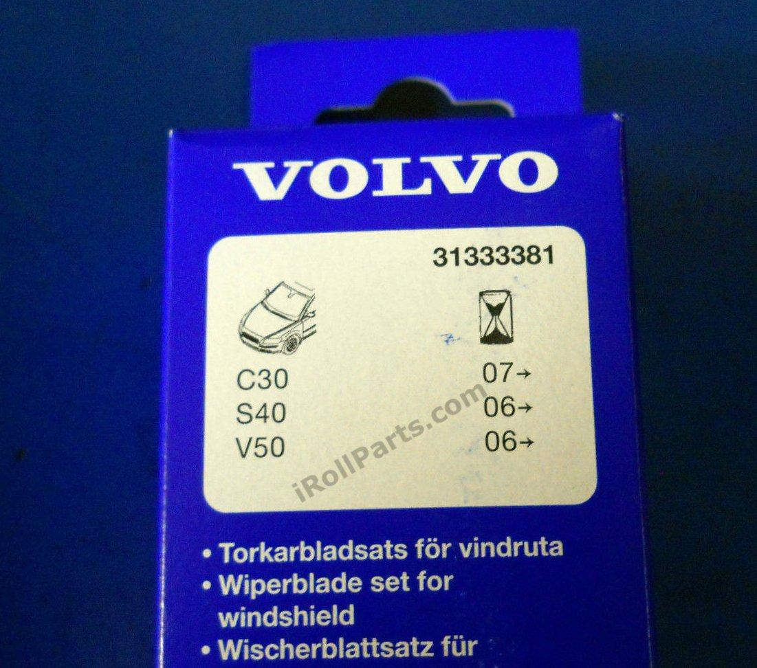 Genuine Limpiaparabrisas Set se adapta a: Volvo C30 S40 V50 ...