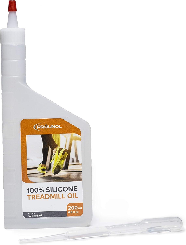 Prounol Aceite de Silicona 100% Puro para Cinta caminadora – Botella de 200ml