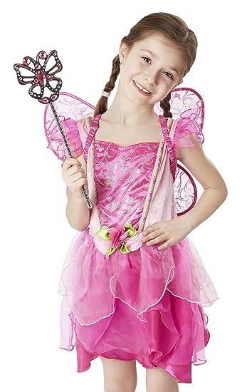 Melissa doug 18539 flower fairy role play costume set 3 pcs melissa doug 18539 flower fairy role play costume set 3 pcs pink mightylinksfo