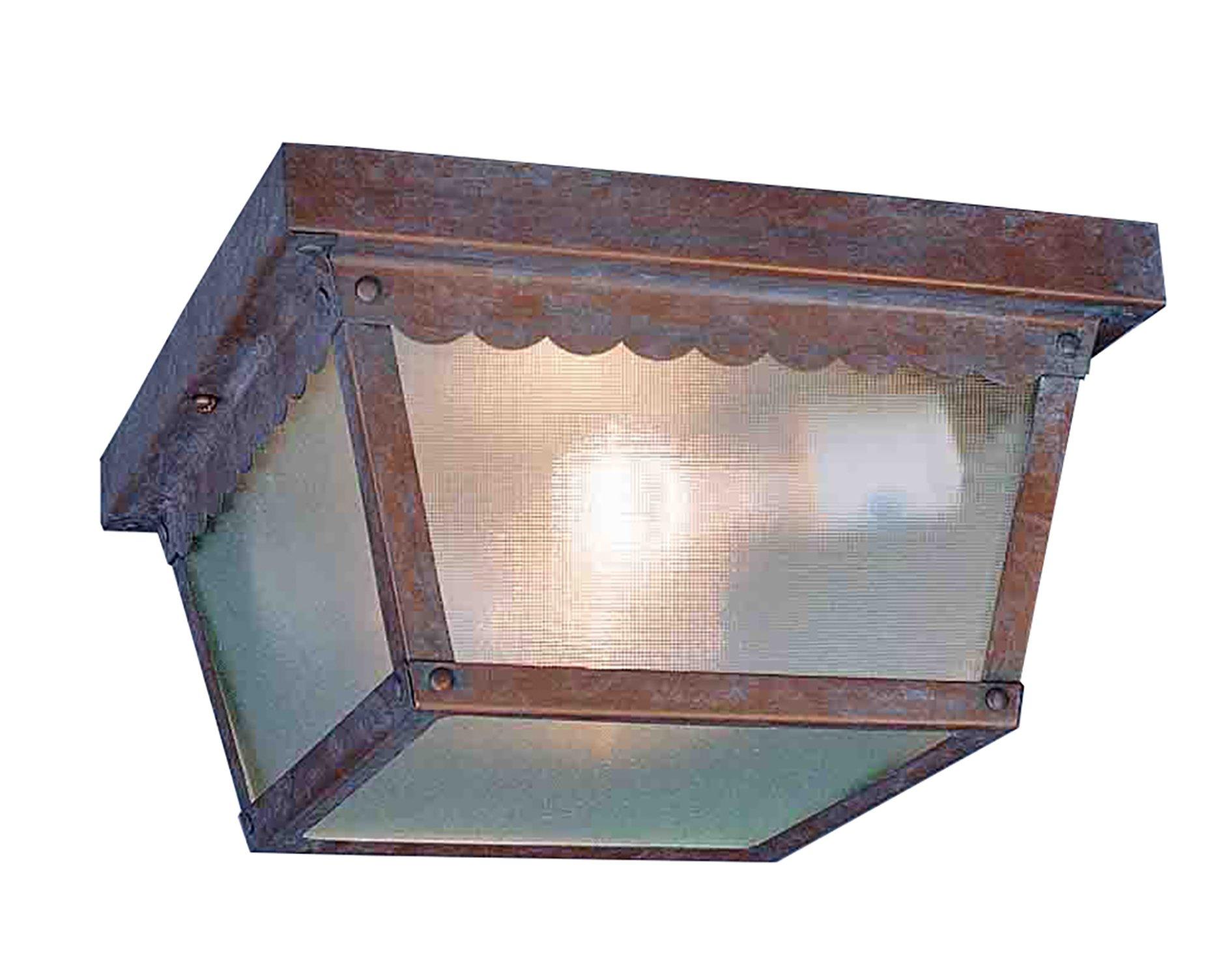 Volume Lighting V7232-22 2-Light Outdoor Ceiling Mount, Prairie Rock