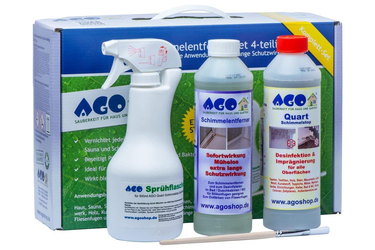 AGO de moho (4 piezas). Premium concentrado para eliminar moho en casa y