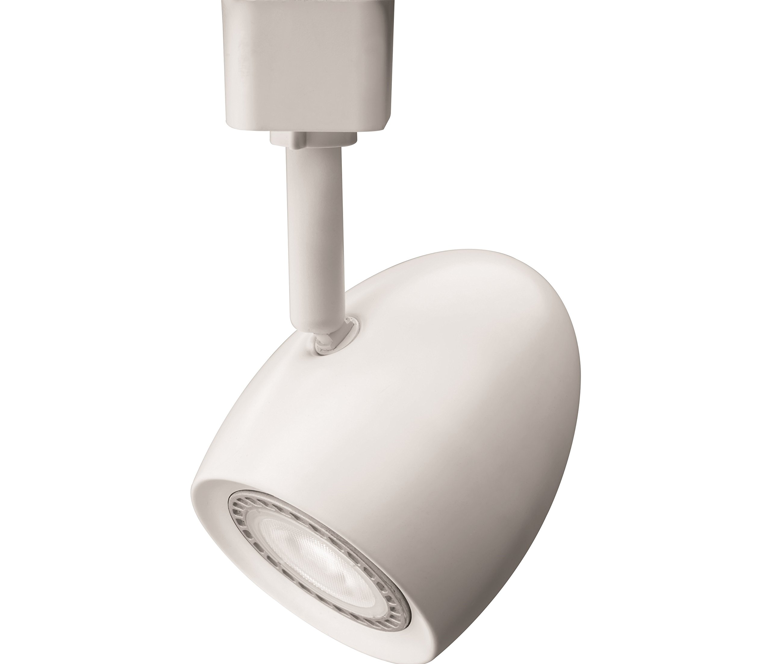 Lithonia Lighting LTHOVAL MR16GU10 LED 27K MW M4 LED Lamp Oval Track Head, Matte White
