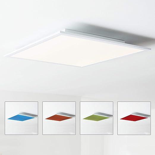 Pannello Led Da Soffitto 60 X 60 Cm Cambiamento Cromatico Rgb Con