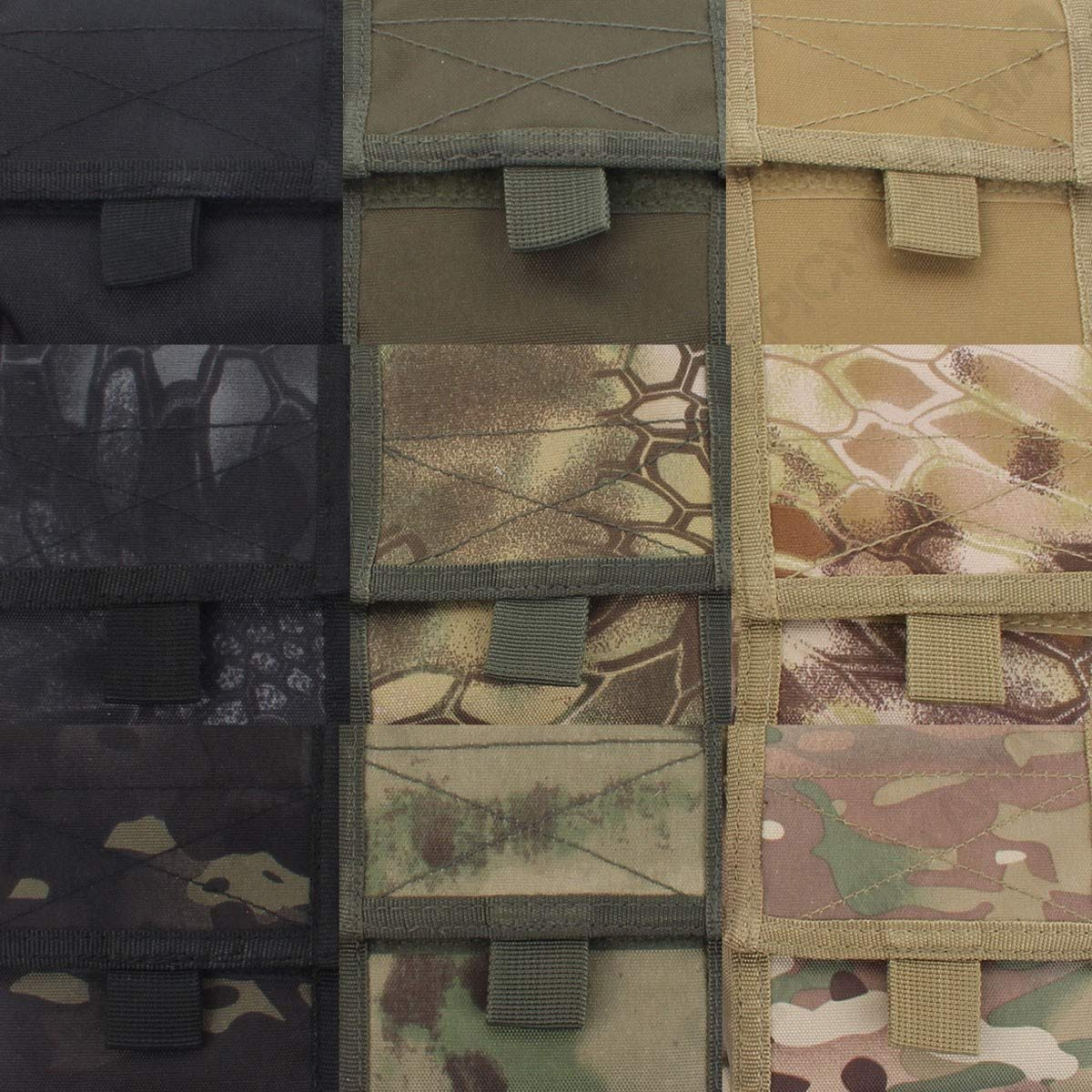 Empty Shell Pouch collaps. Noir Mil-Tec