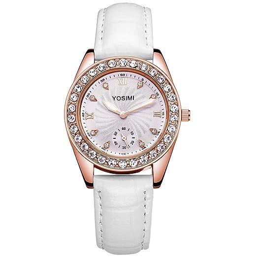 88a9ed7dfee3 YOSIMI Reloj de cuarzo para mujer