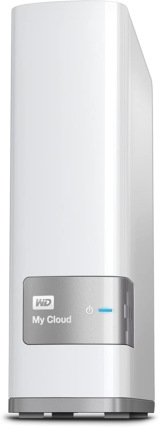 WD 2TB My Cloud Personal Network Attached Storage - NAS - WDBCTL0020HWT-NESN,White