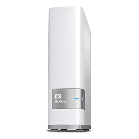 WD 6TB My Cloud Personal Network Attached Storage - NAS - WDBCTL0060HWT-NESN