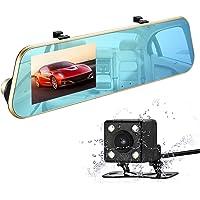 isyoung 1080P Full HD cámara doble de coche