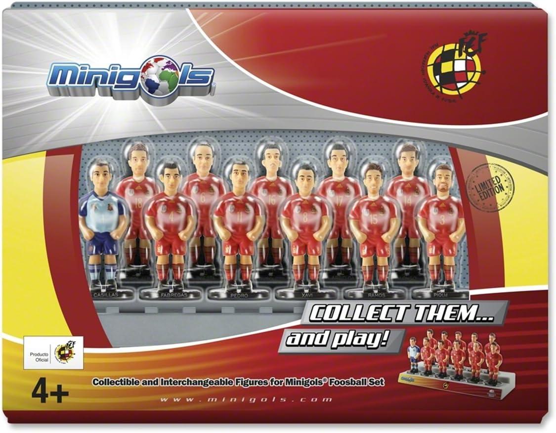 Figuras de equipo para futbolín Minigols - 5RFE-2014-2: Amazon.es ...