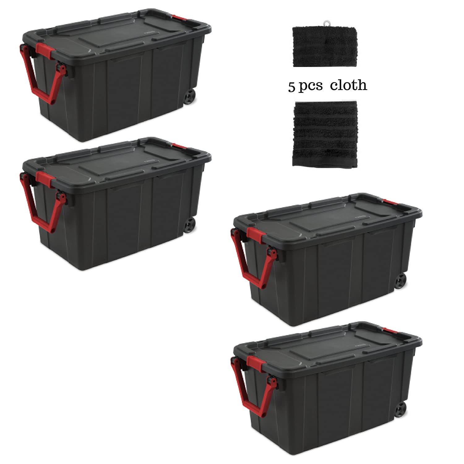 27 gallon storage container