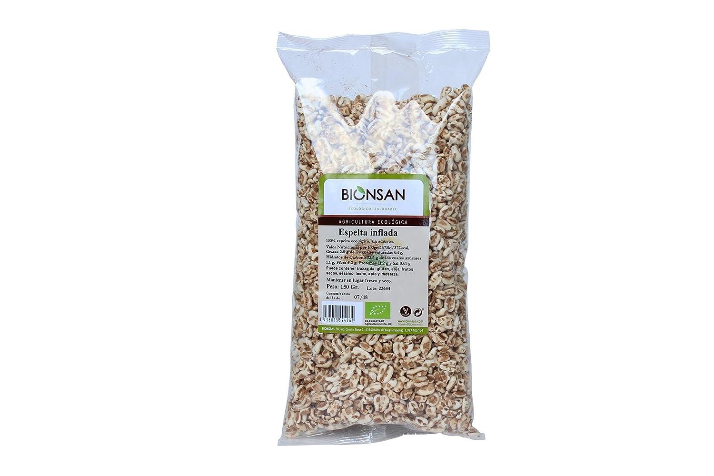 Bionsan Espelta Inflada de Cultivo Ecológico - 3 Paquetes de 130 gr - Total : 390 gr: Amazon.es: Alimentación y bebidas
