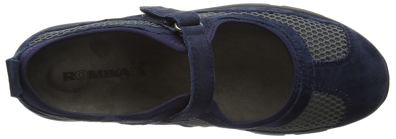 Romika Traveler 02, EU Ballerine Donna, Blu Jeans), 43 EU 02, - 3608b5