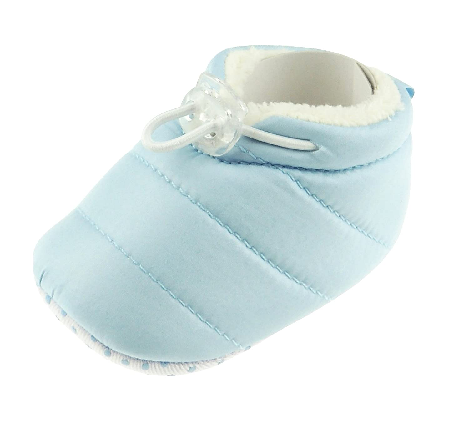Baby Booties 6-12 months corduroy boy girl shoe slipper padder shoe non-skid