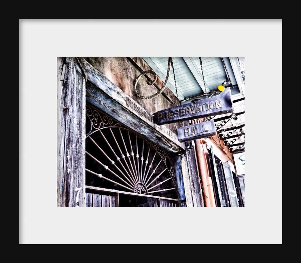 New Orleans picture Preservation Hall Photo 8x10 inch Print by Audra Edgington Fine Art (Image #2)