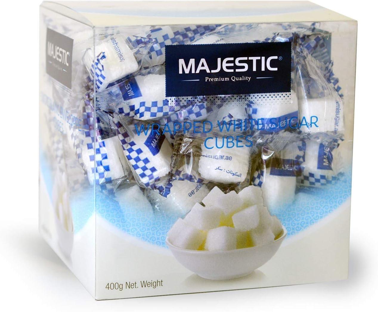 سعر Majestic Wrapped White Sugar Cubes 400 Gm فى الامارات بواسطة امازون الامارات كان بكام