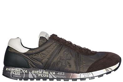PREMIATA Herrenschuhe Herren Wildleder Sneakers Schuhe Grün EU 42 Lucy 2468 4aa44911f7