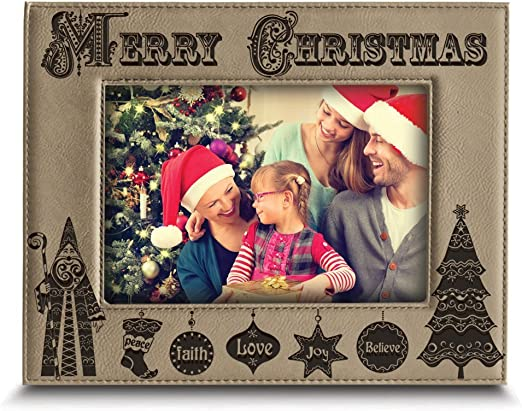 Family Portrait Christmas Picture Frame 5x7 Picture Family Christmas Christmas Decor 8x10 Photo Frame Holiday 4x6 Frame Christmas