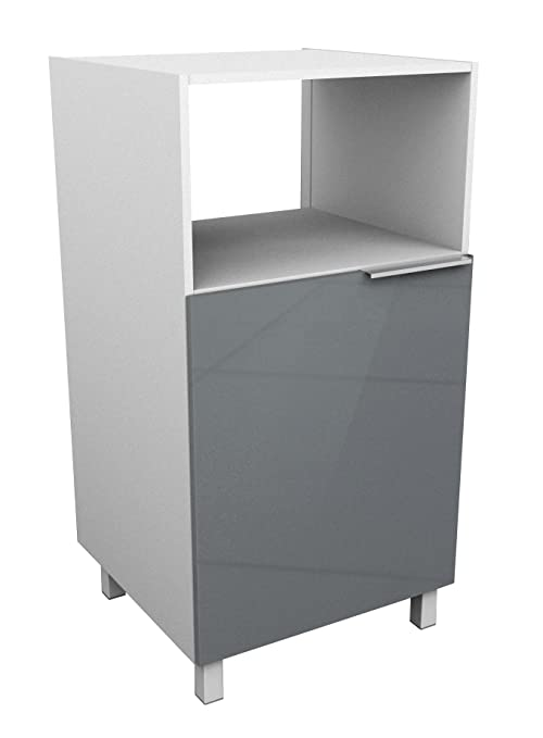 Berlioz Creations - Mueble para microondas, Gris, 60 x 60 ...