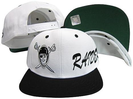 9a1ff26fbd2 Amazon.com   adidas Los Angeles Raiders Side Logo White Black ...