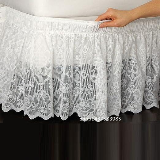 hxxkact Abrigo alrededor de la falda de la cama elástica,Tres ...