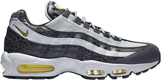 Amazon Com Nike Men S Air Max 95 Off Noir Dynamic Yellow