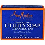 Shea Moisture Mens Utility Soap 5 Ounces (3 Pack)