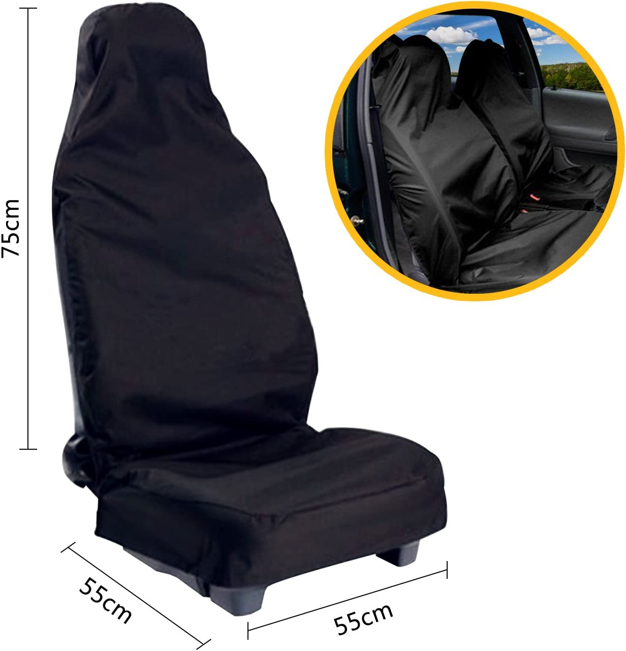 1 x taller ya referencia taller cubierta de asiento protección referencia sede protección universal