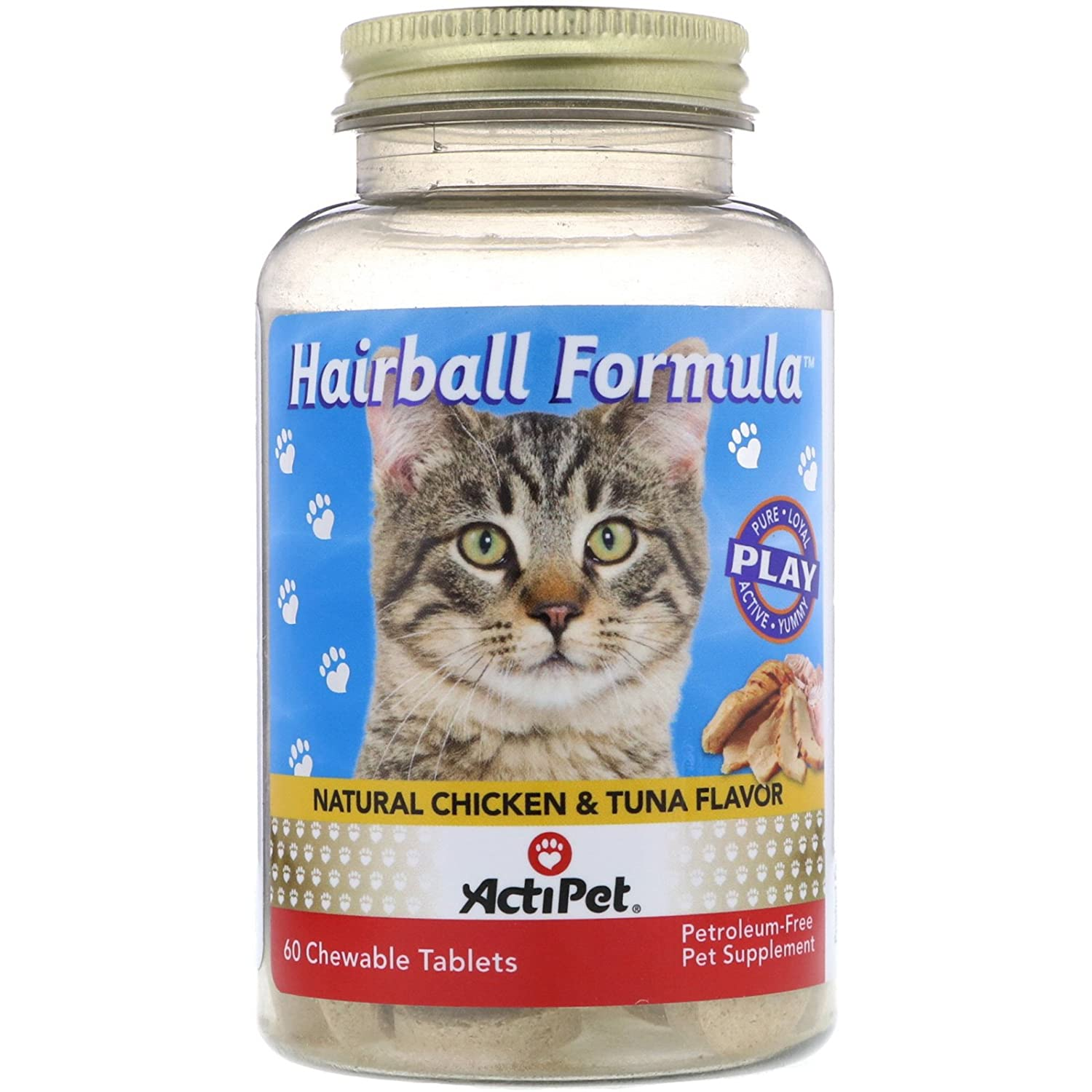 Hairball Formula by ActiPet - 60 piece Nutraceutical