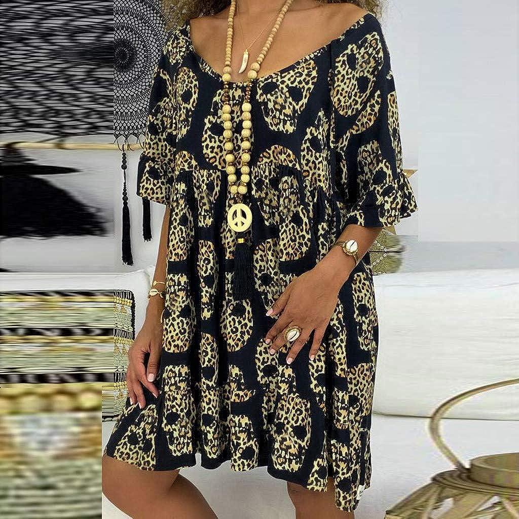 Posional Blusa con Estampado de Mujer Imprimir Camiseta ...