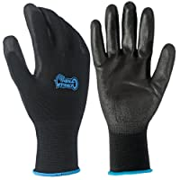 Deals on 20-Pack Grease Monkey Large Gorilla Grip Gloves 25882-32
