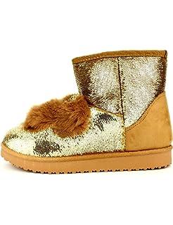 Femme Camelia Chaussures Bordeaux Boots Fourrées Taille Cendriyon vxAZzqwXX