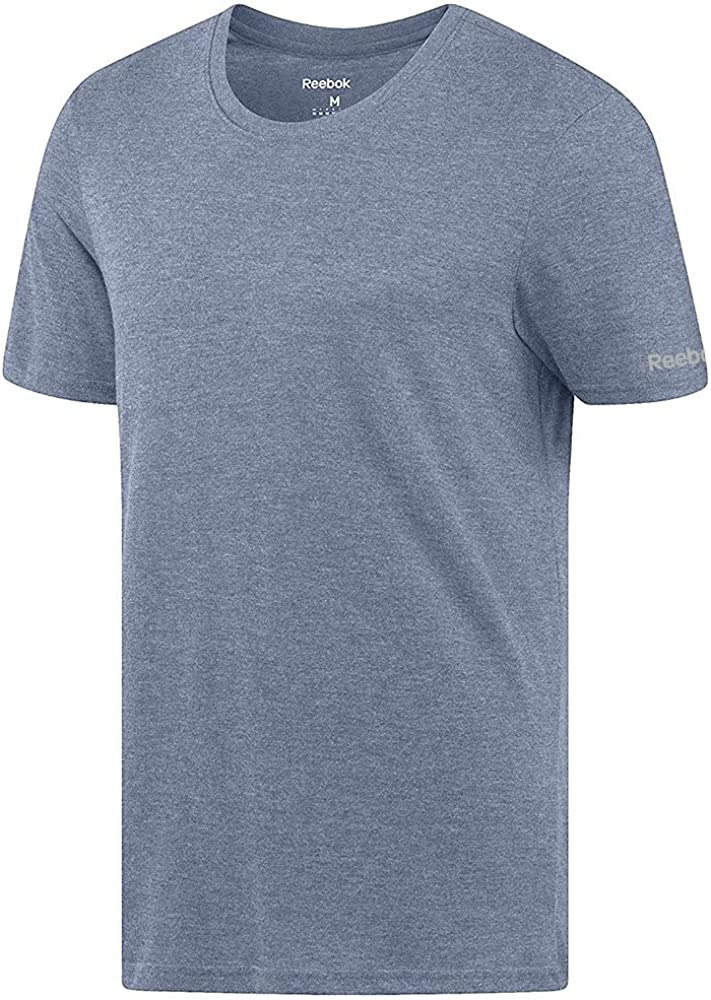 Reebok Crossfit Men/'s White Tri-Blend Crewneck T-Shirt