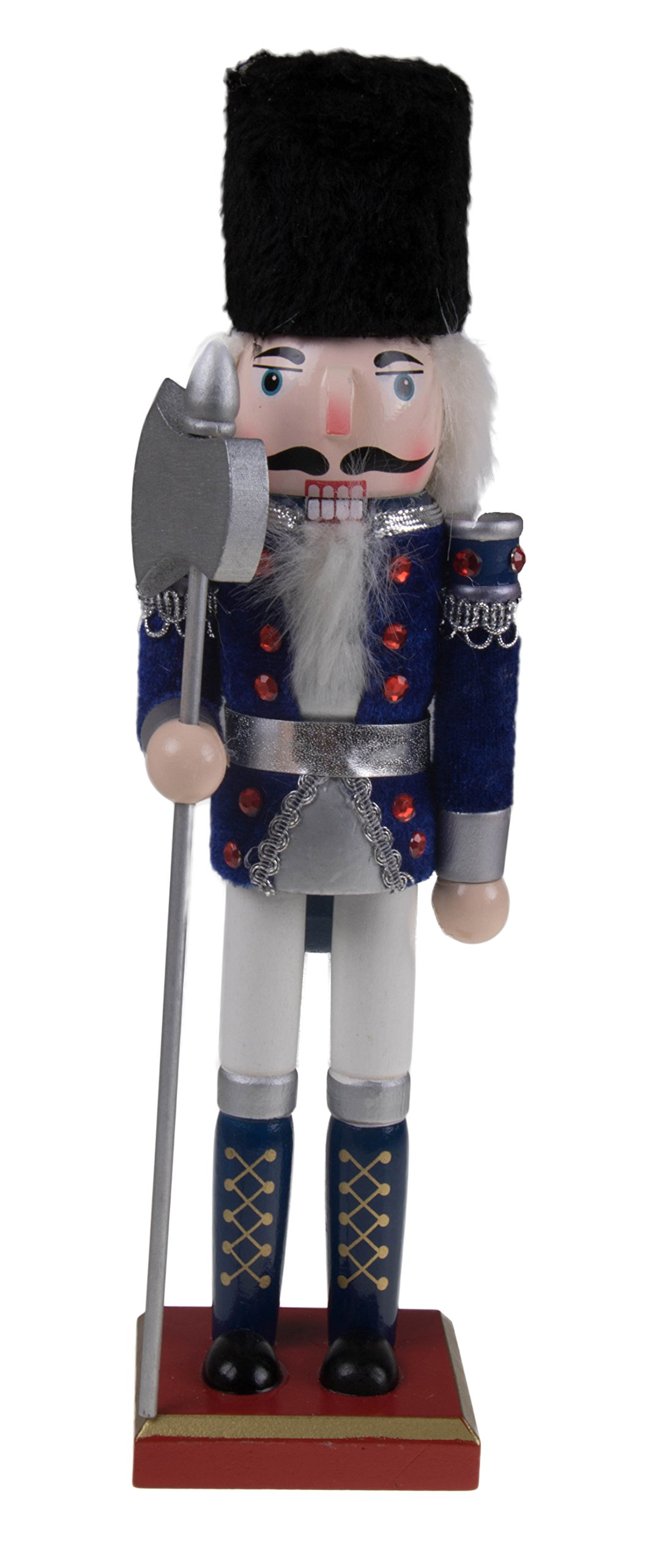 """Traditional Soldier Nutcracker by Clever Creations 