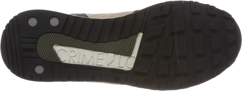 CRIME London 11400ks1 Sneakers voor heren Multicolor Oliv