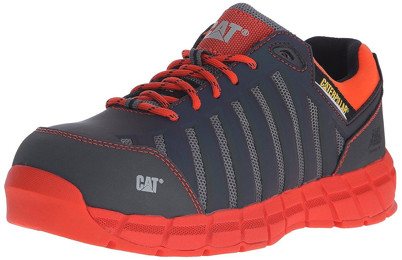 Caterpillar Men's Chromatic Comp Toe Work Athletic Oxford Medium Charcoal 13 M US [並行輸入品] B075GGHCX1