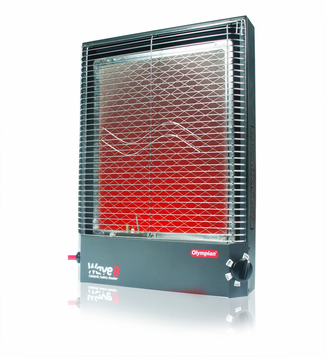 Camco 57351 Olympian Wave-8 8000 BTU LP Gas Catalytic Heater by Camco