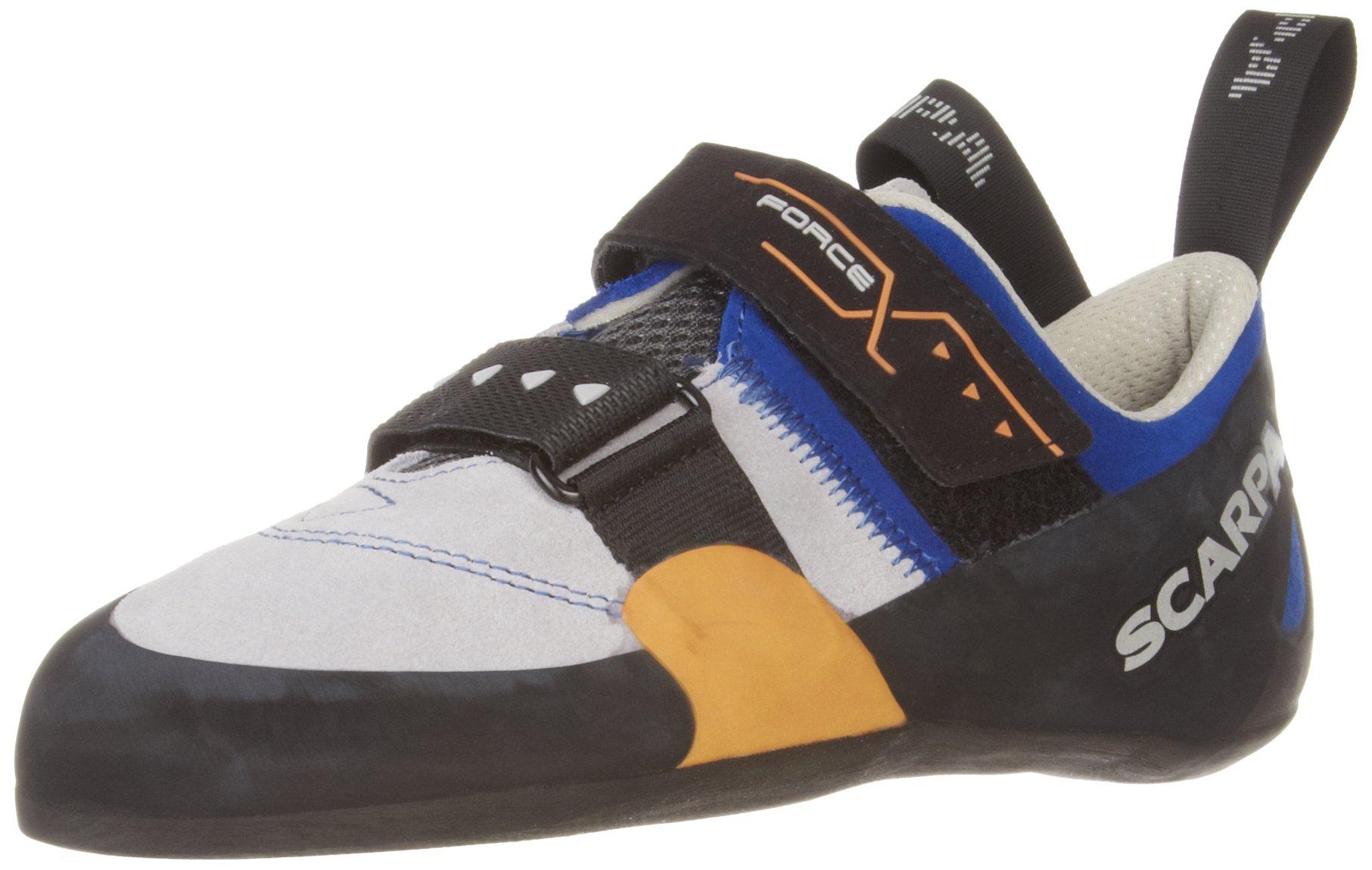 SCARPA Men's Force X Climbing Shoe,Imperial Blue,40 EU/7.5 M US
