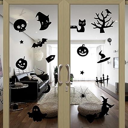 TERMV Halloween Pegatinas De Pared Tallado Salón Dormitorio ...