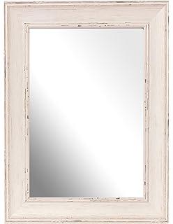 inov a lavar british espejo marco de tamao grande madera de nogal