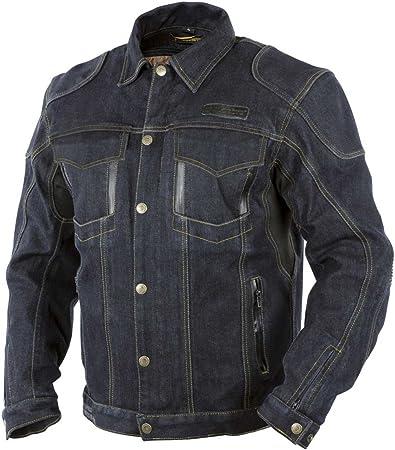 Trilobite Agnox Jeans Jacke wasserdicht Herren blau Größe M