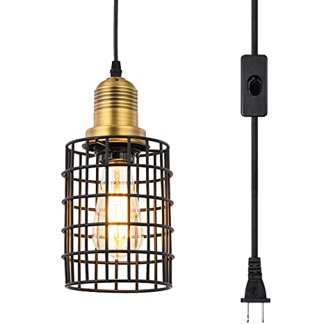 Amazon.com: Topotdor - Lámpara de techo colgante de metal ...