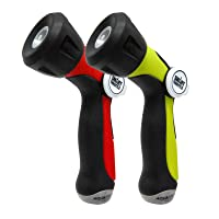 Deals on 2-Pack Aqua Joe Adjustable Hose Nozzle w/Throttle Control
