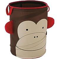 Skip Hop Zoo Monkey - Cesto de almacenamiento