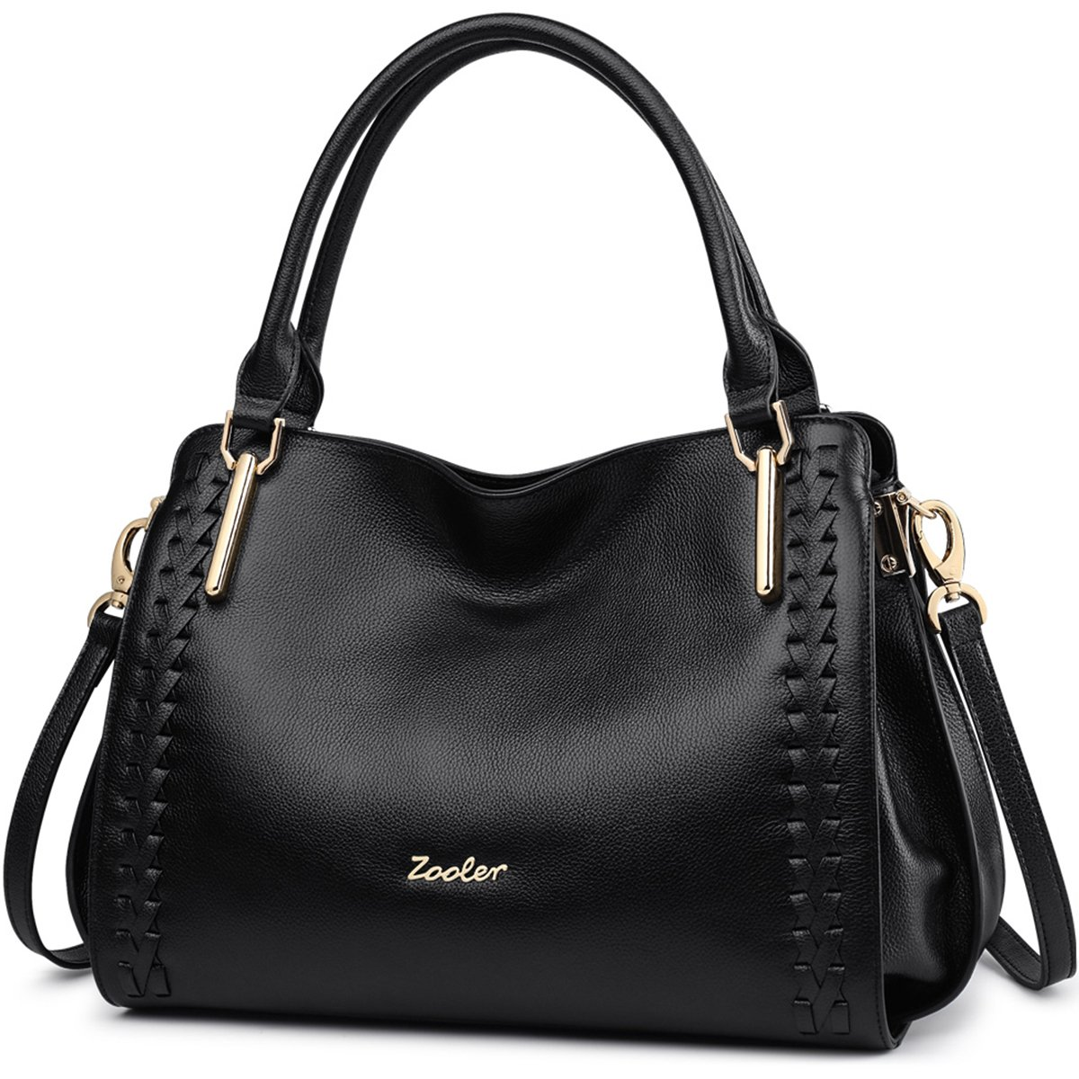 ZOOLER Leather Purses and Handbags for Women Shoulder Bags Satchel Lady's Tote