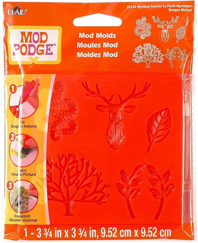 Ornamental 3 PK Mod Podge Mod Molds