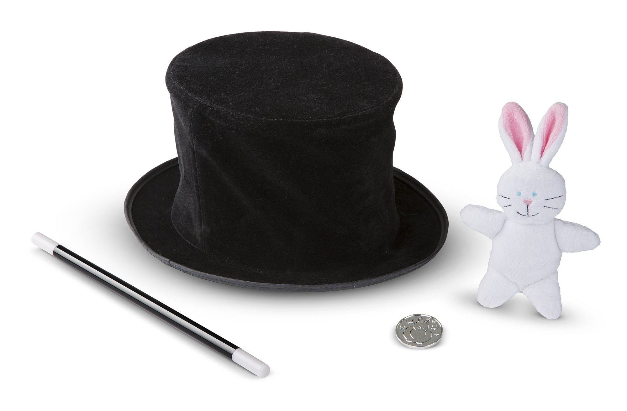 Melissa & Doug Magic in A Snap Magician's Pop-Up Magical Hat with Tricks